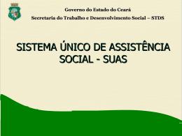 Serviços da Proteção Social Especial de Alta Complexidade Serviço