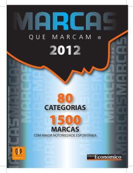 Marcas que Marcam 2012 clique para abrir - Económico