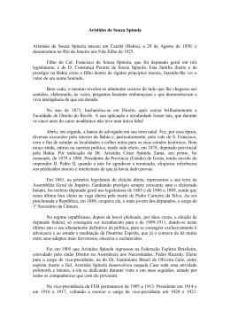 Aristides de Souza Spínola - Federação Espírita Brasileira