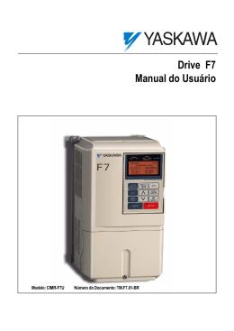 Drive F7 Manual do Usuário - X Tec Comércio e Serviços Ltda