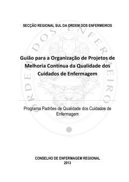 Guião para elaborac¸ão projetos qualidade SRS