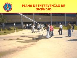 PLANO DE INTERVENÇÃO DE INCÊNDIO