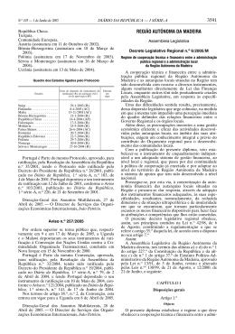 3591 REGIÃO AUTÓNOMA DA MADEIRA