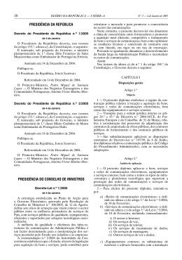 Decreto-Lei nº 1/2005
