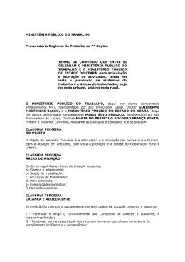MPT - Ministério Público do Estado do Ceará