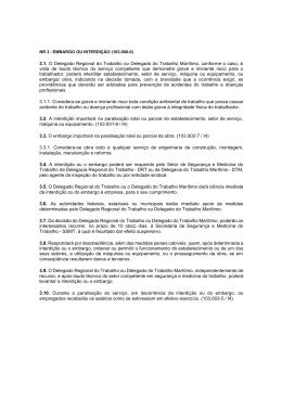 Diferenças Entre Embargo e Interdição na Segurança do Trabalho 2008792c18