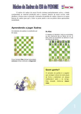 Regras do Jogo de Xadrez