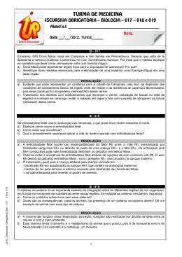 017 (Unicamp -SP) Dona Maria mora em Campinas e tem