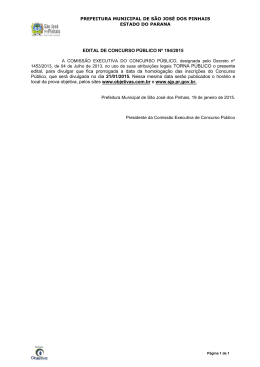Edital n° 194/2015 - Objetiva Concursos
