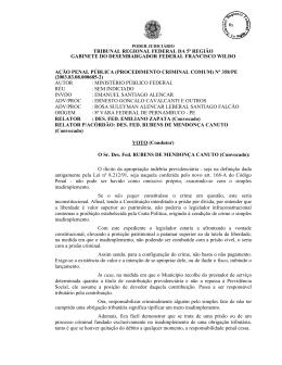 Inteiro Teor - Tribunal Regional Federal da 5ª Região