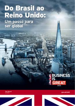 Do Brasil ao Reino Unido: um passo para ser global