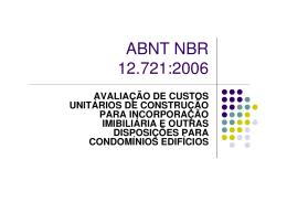 AULA NBR 12721 - Área Administrativa Docente