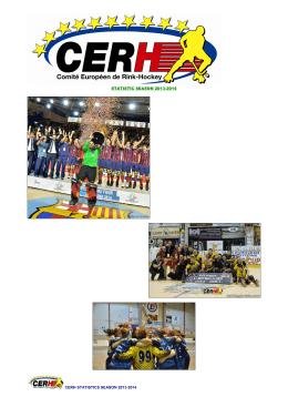 statistic season 2013-2014 cerh statistics season 2013-2014