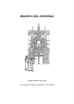 Ficha do Mosteiro dos Jerónimos