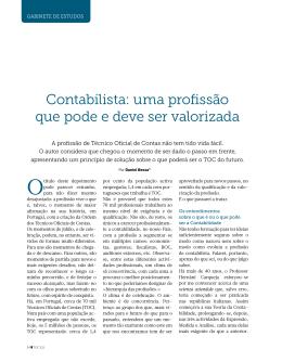 Gabinete de Estudos I - Ordem dos Contabilistas Certificados