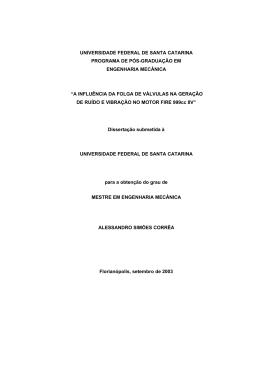 capa da dissertação - Universidade Federal de Santa Catarina