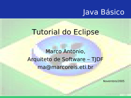 Java Básico Tutorial do Eclipse