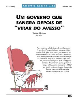 """um governo que sangra depois de """"virar do avesso"""
