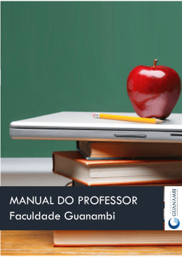 MANUAL DO PROFESSOR Faculdade Guanambi