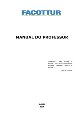 MANUAL PROFESSOR
