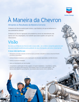 The Chevron Way