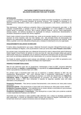 VANTAGENS COMPETITIVAS DO SÉCULO XXI