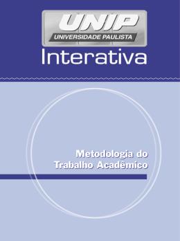 Metodologia do Trabalho Acadêmico - Disciplinas On-line