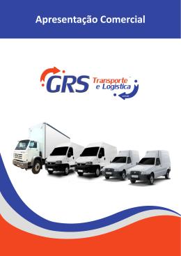 Apresentação Comercial - GRS Transporte e Logística