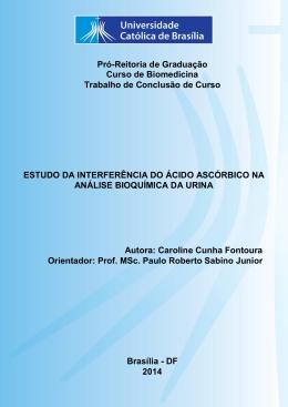 Caroline Cunha Fontoura - Universidade Católica de Brasília