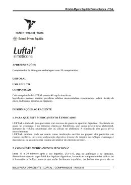 LUFTAL - COMPRIMIDOS - Bristol