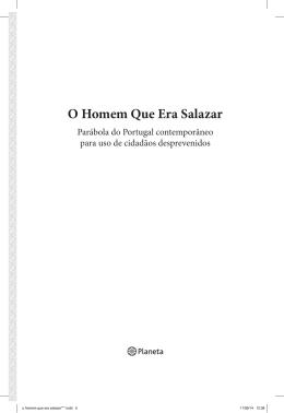 O Homem Que Era Salazar