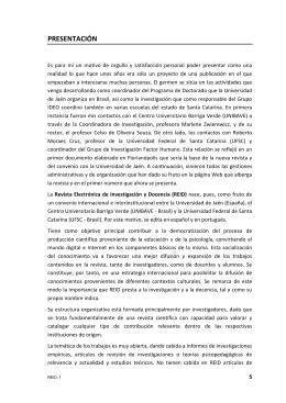 Presentación. - Universidad de Jaén