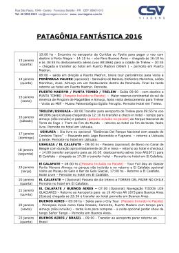 Baixar PDF - CSV Viagens