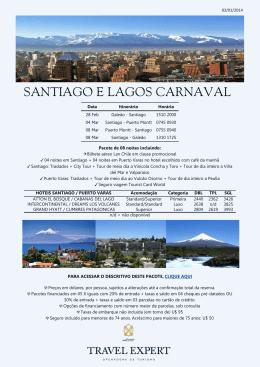 SANTIAGO E LAGOS CARNAVAL