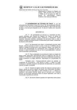 decreto nº 11.319, de 13 de fevereiro de 2004