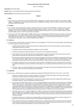Processo Administrativo CVM nº RJ2012/7865 Reg. Col. nº 8565