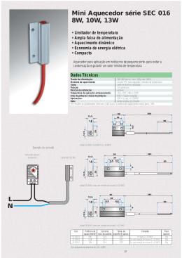 aquecedores, termostatos e higrostatos