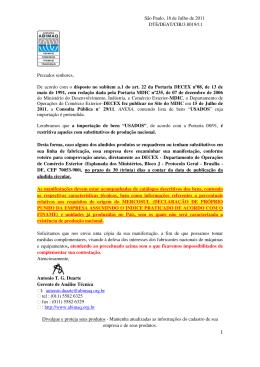 consulta pública nº 29 de 15/07/2011