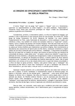 Ministério autoridade e missão - Área Provincial 1