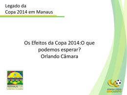 Os Efeitos da Copa 2014:O que podemos esperar