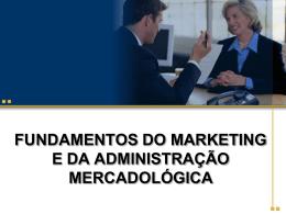 fundamentos do marketing e da administração