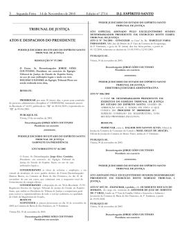 Tribunal de Justiça do Espírito Santo