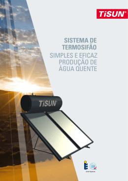 SISTEMA DE TERMOSIFãO simples e eficaz produção de água