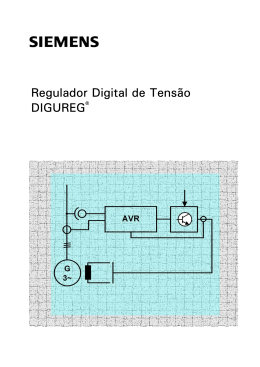 Regulador Digital de Tensão DIGUREG®