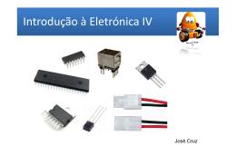 Introdução à Eletrónica IV