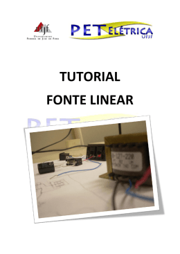 TUTORIAL FONTE LINEAR