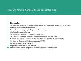 Prof. Dr. Antonio Geraldo Ribeiro dos Santos Junior