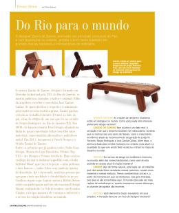 Do Rio para o mundo