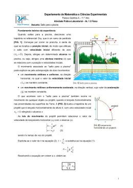 Departamento de Matemática e Ciências Experimentais