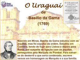 O Uraguai - rogerliteratura.com.br